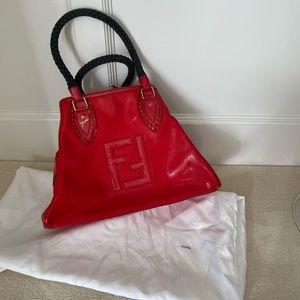 Fendi Perforated Du Jour Bag in great condition